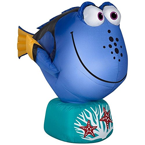 Disney Pixar Gemmy 39436 Airblown Inflatable 3.5 Foot Long Dory Fish from Finding Nemo