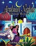 Arabian Nights Coloring Book: An Adult Coloring