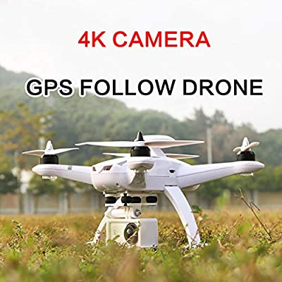 ZMZS RC Drones with 4K FPV Camera 2.4G Quadcopter GPS Return Home for Kids and Beginners with Long Range Air Press Altitude Hold from ZMZS