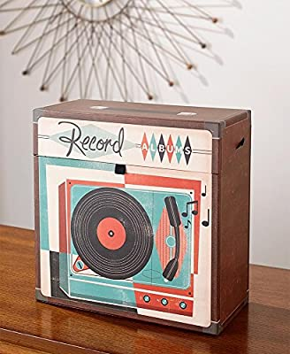 The Lakeside Collection Record Album Storage Box