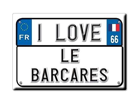 Enjoymagnets LE BARCARÈS Souvenir IMANES DE Nevera Reino Unido ...