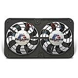 Flex-a-lite 420 Lo-Profile S-Blade Dual Electric Puller Fan