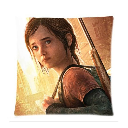 [Pandora Star The Last Of Us Ellie Naughty Dog Custom Zippered Pillow Case Cover 18x18 (one side print)] (Holmes On Homes Costumes)
