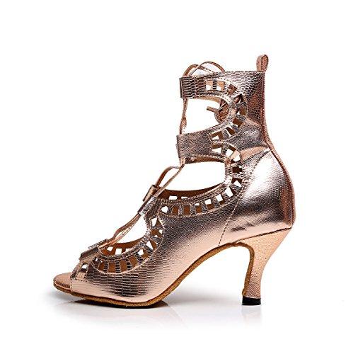 timeless design 91458 ae6e9 Sandales UK7 Moderne Samba Salsa Chaussures Talons JSHOE Latine EU41  Chaussures Danse Tango De Thé heeled6cm ...