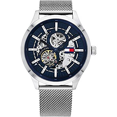 Tommy Hilfiger Men's Analogue Automatic Watch with Stainless Steel Strap 1791643