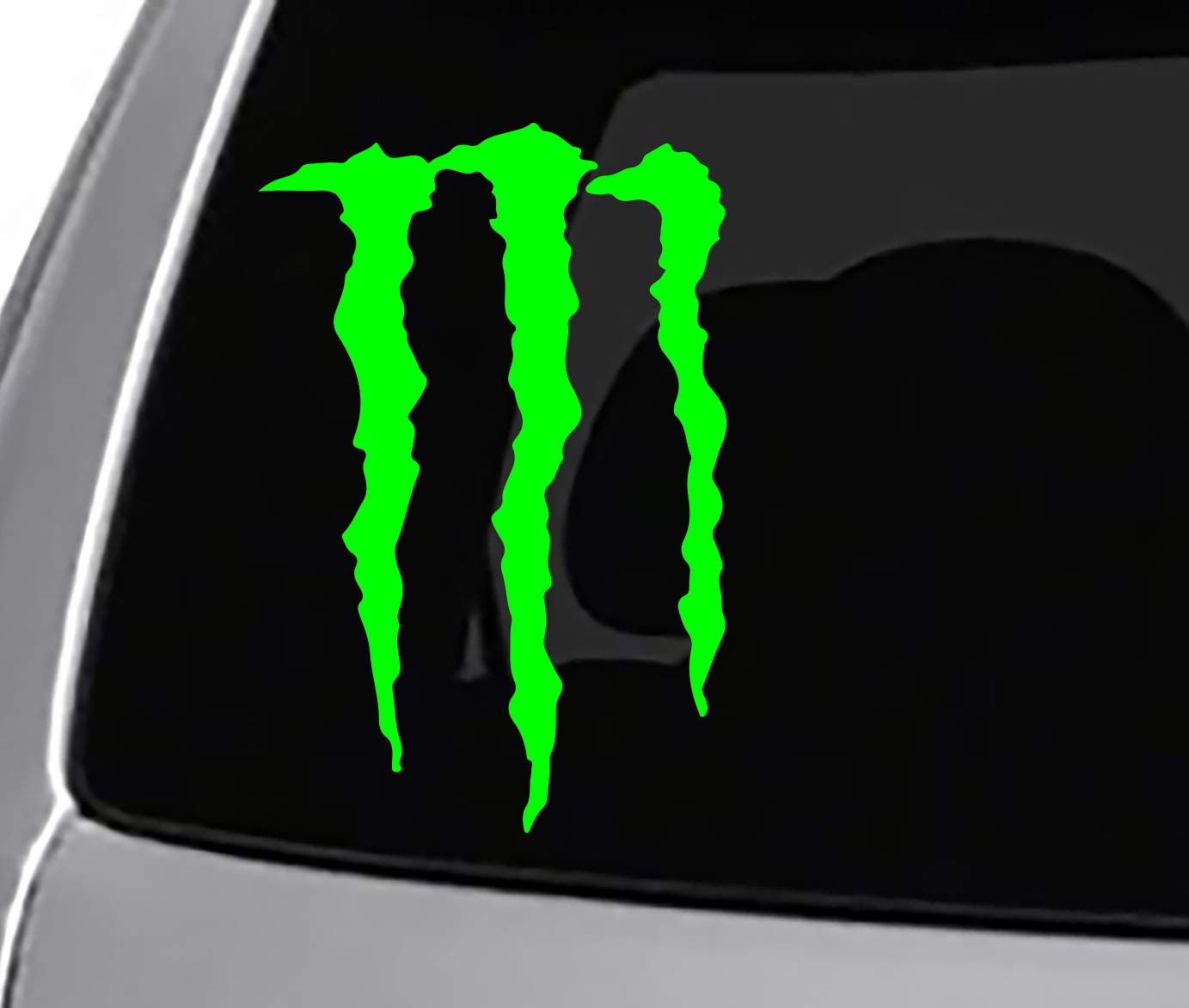 Amazon com seek racing monster claws decal energy drink automotive
