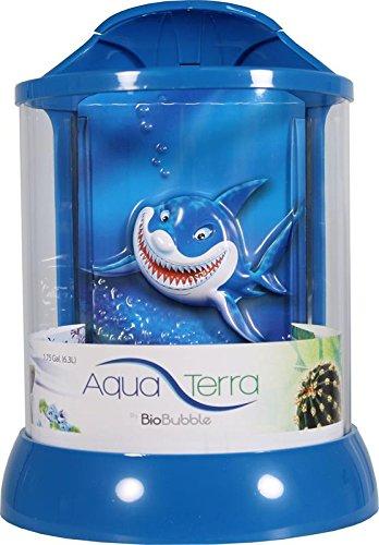 BioBubble AquaTerra - - - Squalo 3D, 1 Gal, Scarpette a Strappo Voltaic 3 Velcro Fade - Bambini da93f1