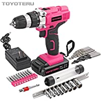 Toyoteru Powerful Lithium Ion Cordless Accessory Noticeable