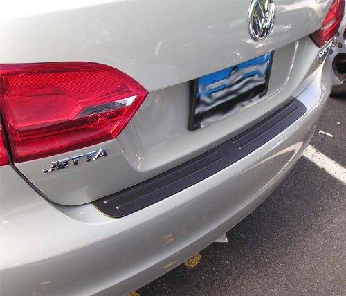 Rear Bumper Protector Compatible with 2011 2013 2014 2016 2017 2018 Volkswagen Jetta Sedan