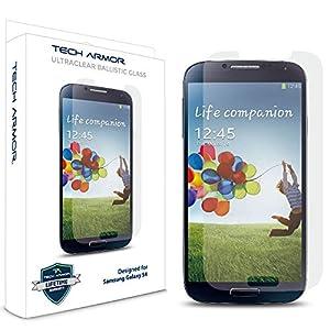 samsung galaxy s4 phone price. Galaxy S4 Glass Screen Protector, Tech Armor Premium Ballistic Samsung Protectors [1] Phone Price