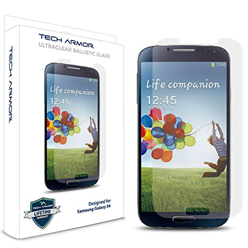 Tempered Glass Screen Protector for Samsung Galaxy S4 - 7