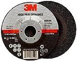 3M High Performance Depressed Center Grinding Wheel T27 66544, Ceramic, 4-1/2'' Diameter, 1/4'' Thick, 7/8'' Arbor, 36+ Grit, 13300 rpm (Case of 10)