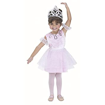 14a064119f81 Amazon.com  Child s Toddler Ballerina Girl Halloween Costume (1-2T ...