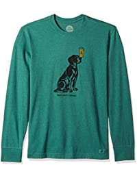 Men's Crusher Long Sleeve Men's Best Friend Htfrgr T-Shirt,