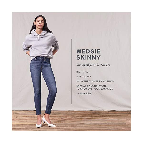 Levi's Women's Wedgie Skinny Jeans (Standard and Plus)