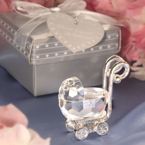 Choice Crystal - Baby Carriage (Set of 6)