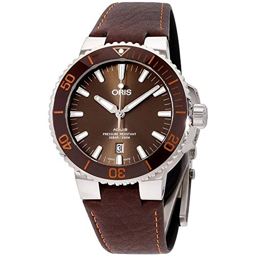 Oris Diving Analog Brown Dial Men's Watch – 01 733 7730 4152-07 5 24 12EB
