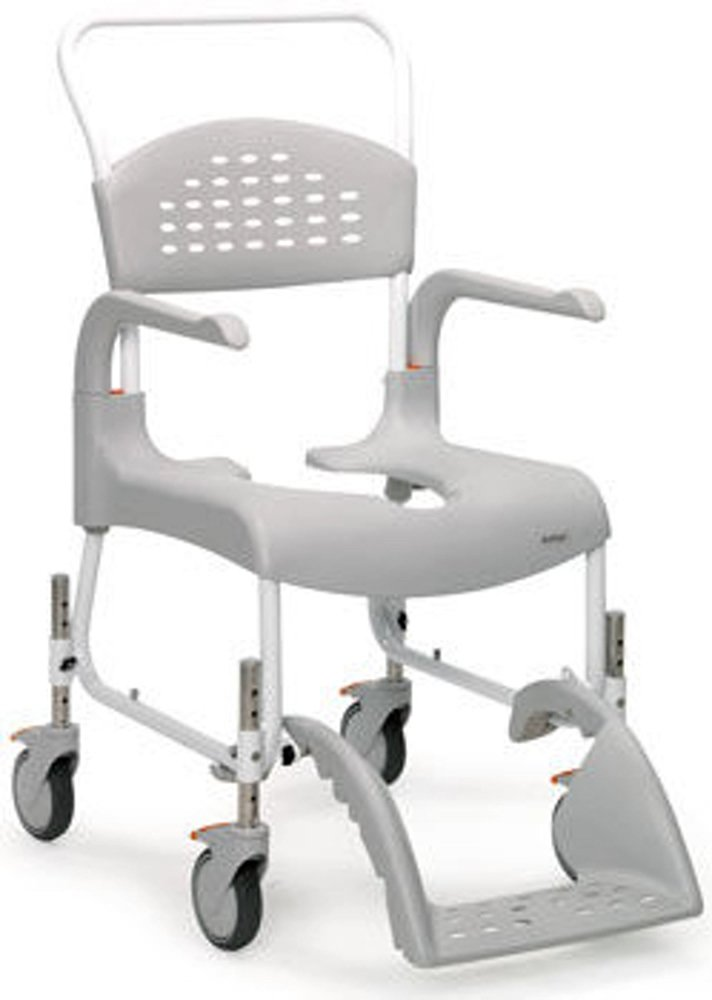 Clean Adjustable Height Shower Chair