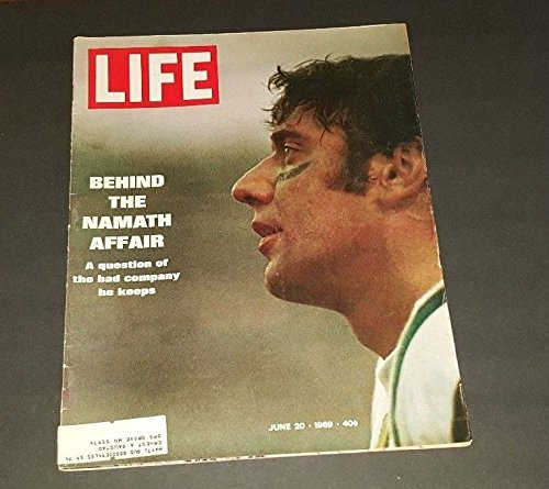 Life Magazine - June 20, 1969 -- Cover: Joe Namath