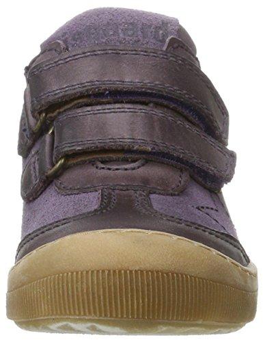 Bisgaard Unisex-Kinder Klettschuhe Sneaker Violett (5006-1 Purple)