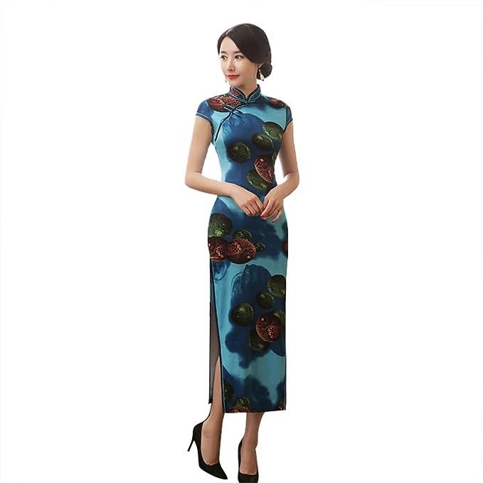 Amazon.com: ZOOBOO chino cheongsam Qipao vestido – Oriental ...