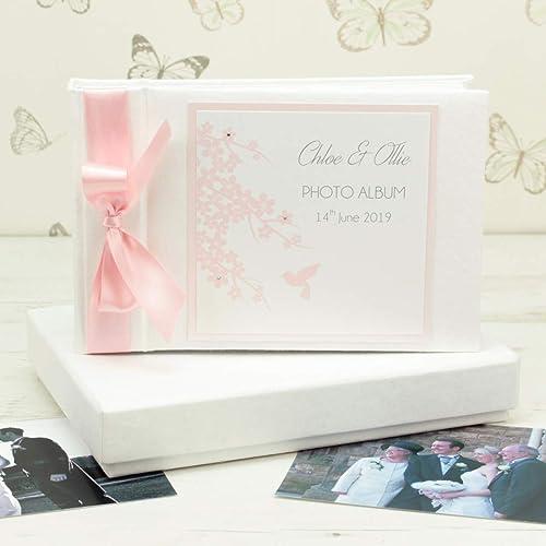 Personalised Hummingbird Wedding Photo Album Amazon Handmade