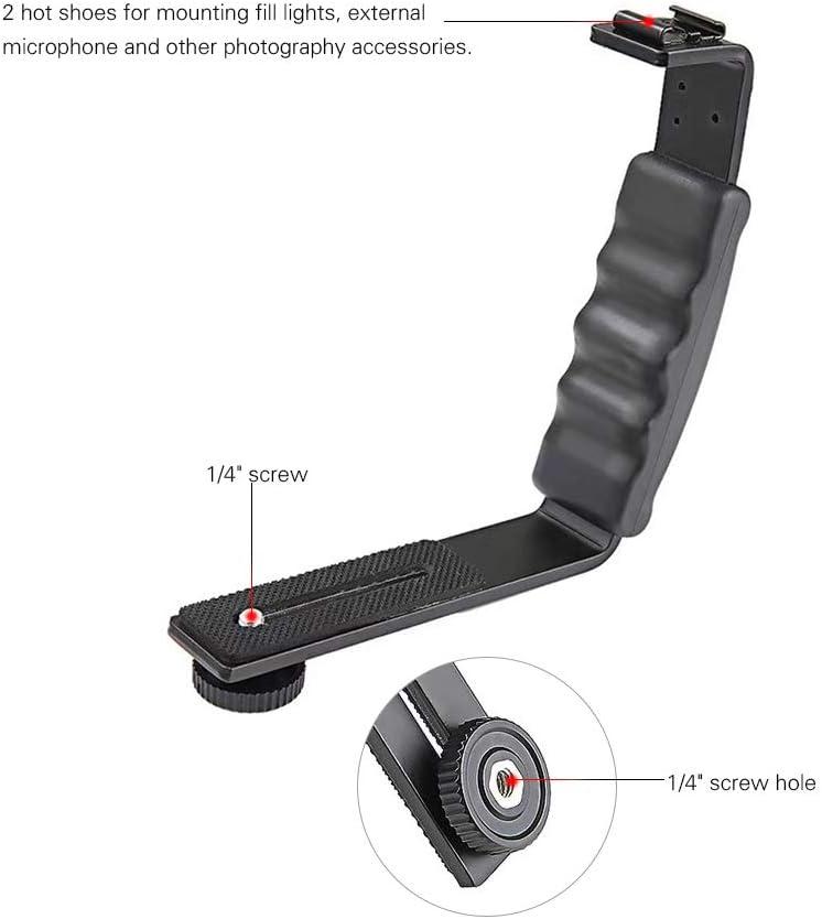 Handheld Stabilizer Bracket Expansion Bracket Holder for DJI Osmo Mobile 2 for Zhiyun Smooth 4 Accessory L-Type Handheld Holder