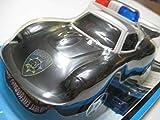Police Force Black/White Porsche 911 Carrera Coupe 148-mm Plastic/Electric NIB