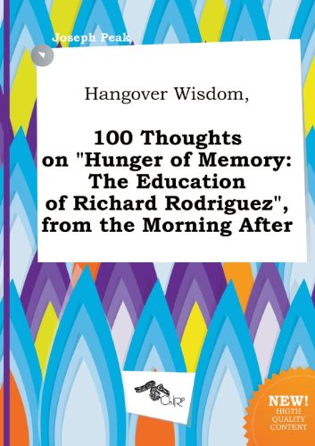 an analysis of the autobiography hunger of memory by richard rodriguez P of m the hunger of memory the education of richard rodriguez community note includes chapter by chapter summary and analysis character list theme.