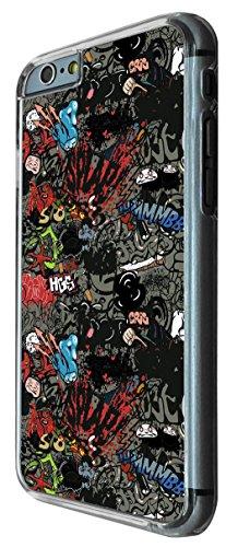 796 - Superhero Art Fun Cartoon Design iphone 6 PLUS / iphone 6 PLUS S 5.5'' Coque Fashion Trend Case Coque Protection Cover plastique et métal