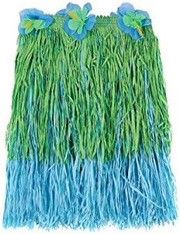amscan International - Falda hawaiana para niña, color azul y ...