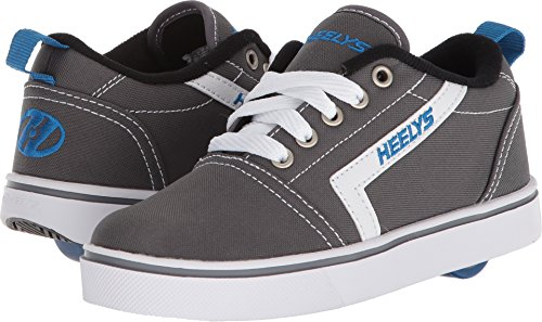 Heelys Wheel (Heelys Boy's GR8 Pro (Little Kid/Big Kid/Adult) Grey/White/Royal 1 M US Little Kid)