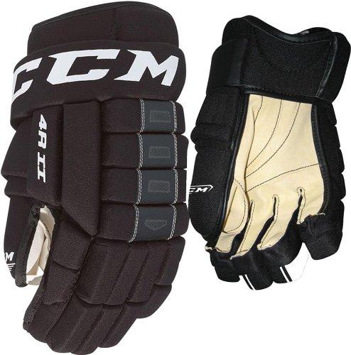 CCM 4R II Black Ice Hockey Gloves Senior Size 13
