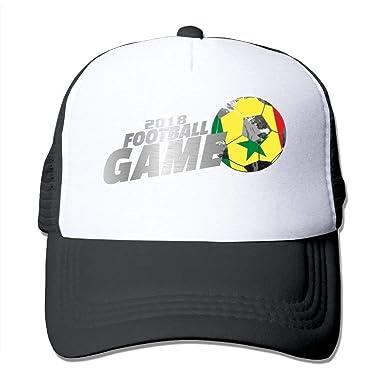 Fitted 2018 Football Game Senegal Mesh Baseball Caps Running Ball ... a49b3d8d861