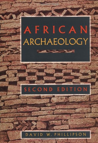 African Archaeology (Cambridge World Archaeology) -