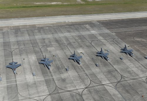24 x 36 Giclee print ofU.S. Air Force jets on the tarmac at Ellington Airport one of three airports in Pasadena Texas outside Houston r85 41764 by Highsmith, Carol - Airport Houston Pictures