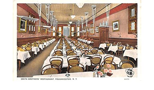Smith Brother S Restaurant Poughkeepsie New York Postcard