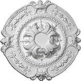 Ekena Millwork CM17SO 16 3/8-Inch OD x 2 3/4-Inch ID x 1 3/4-Inch Southampton Ceiling Medallion