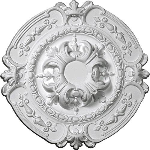 Ekena Millwork CM17SO 16 3/8-Inch OD x 2 3/4-Inch ID x 1 3/4-Inch Southampton Ceiling Medallion by Ekena Millwork (Image #1)