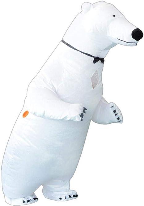 CCHM Oso Polar Ropa Inflable Disfraz Mascota Ropa de Rendimiento ...