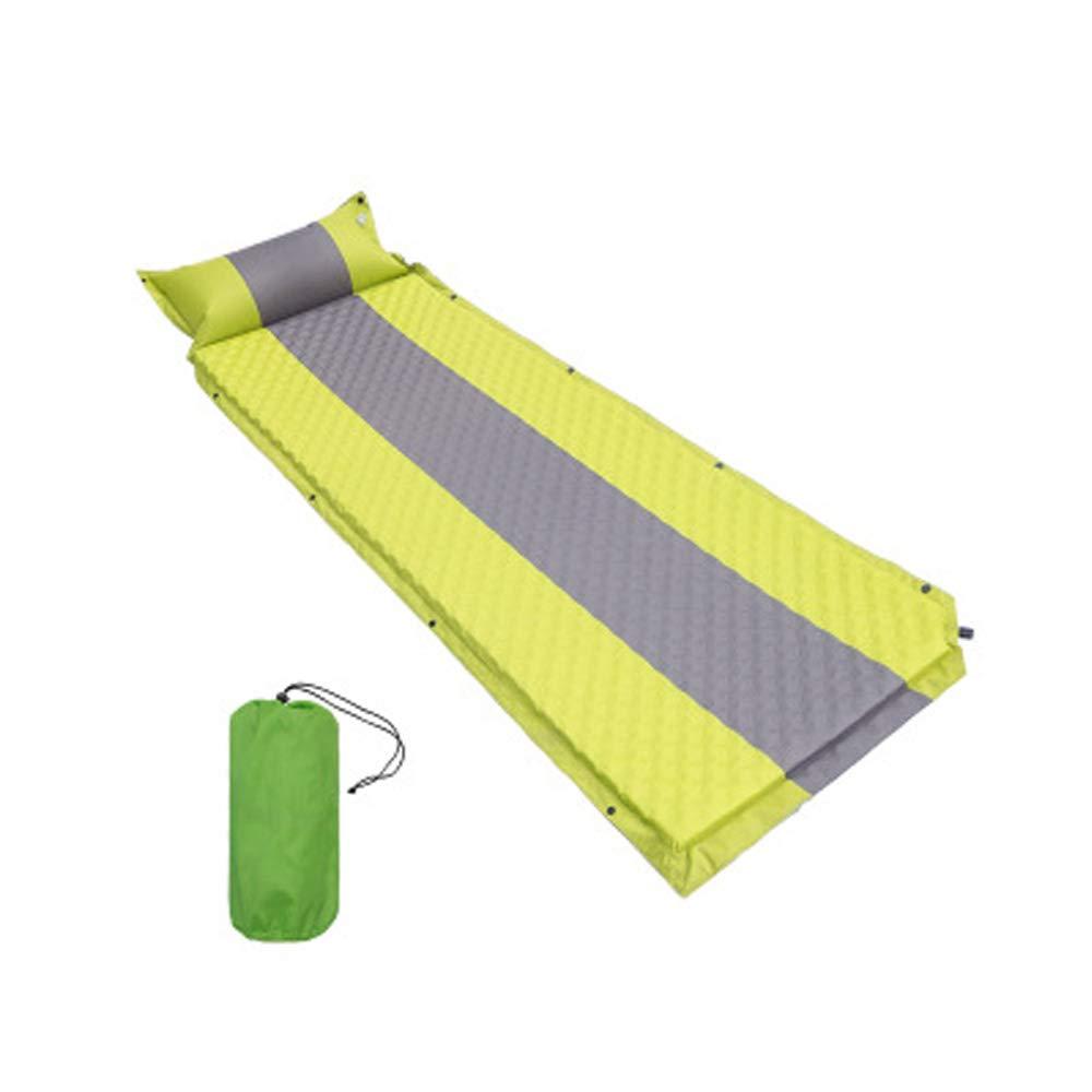 Automatische aufblasbare Kissen ei tank kleber outdoor camping camping lange erweitert aufblasbare kissen schlafmatte(Grün)