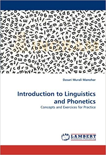 Amazon com: Introduction to Linguistics and Phonetics