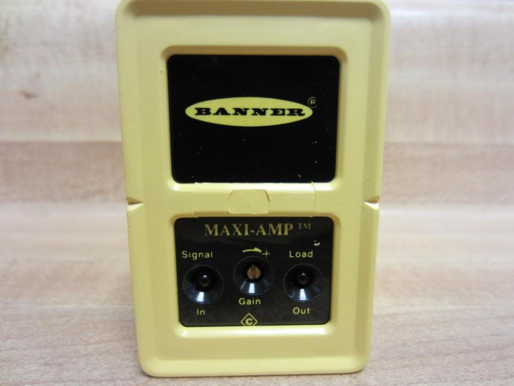 Banner CM3RA Amplifier Module 26451