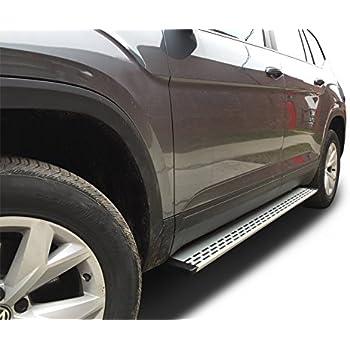 Broadfeet aluminum running boards r66 red for Atlas car aluminium