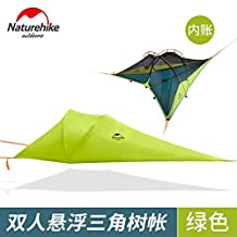 Naturehike floating ground tent triangle tree hanging tent mosquito tent rainproof tent hammock tree from the ground, from the ground tent, suspension tent trian