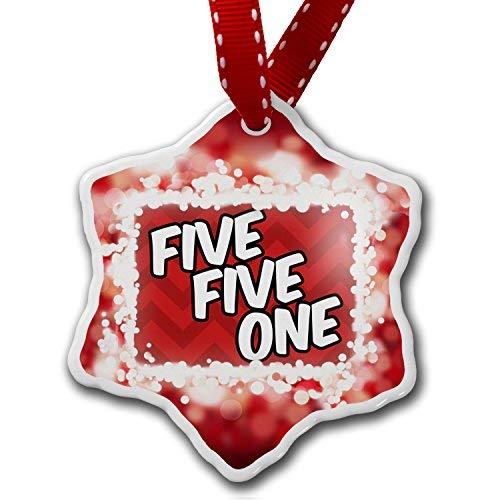 VinMea Star Shaped Porcelain Red Christmas Ornament 551 Hackensack, NJ red, red - ()