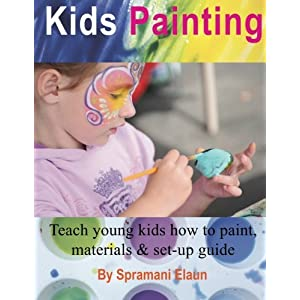 Kids Painting: Teach young kids how to paint, materials & set-up guide