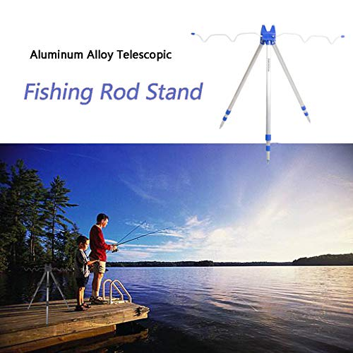 kitt Telescopic Fishing Rod Tripod Stand, 5
