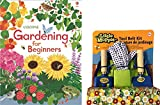 Kolt Mining Gardening for Kids Beginners Tool and Book Set (Blue)