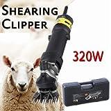 Iglobalbuy 320W Mouton Chèvre Electrique Couper Tondre Chien Cisaille tondeur de moutons avec étui de transport